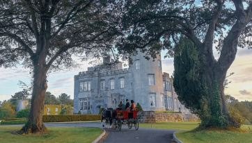 A weekend getaway to Dromoland Castle needs to be on your February bucket list