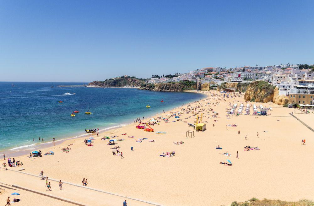 Faro beach portugal