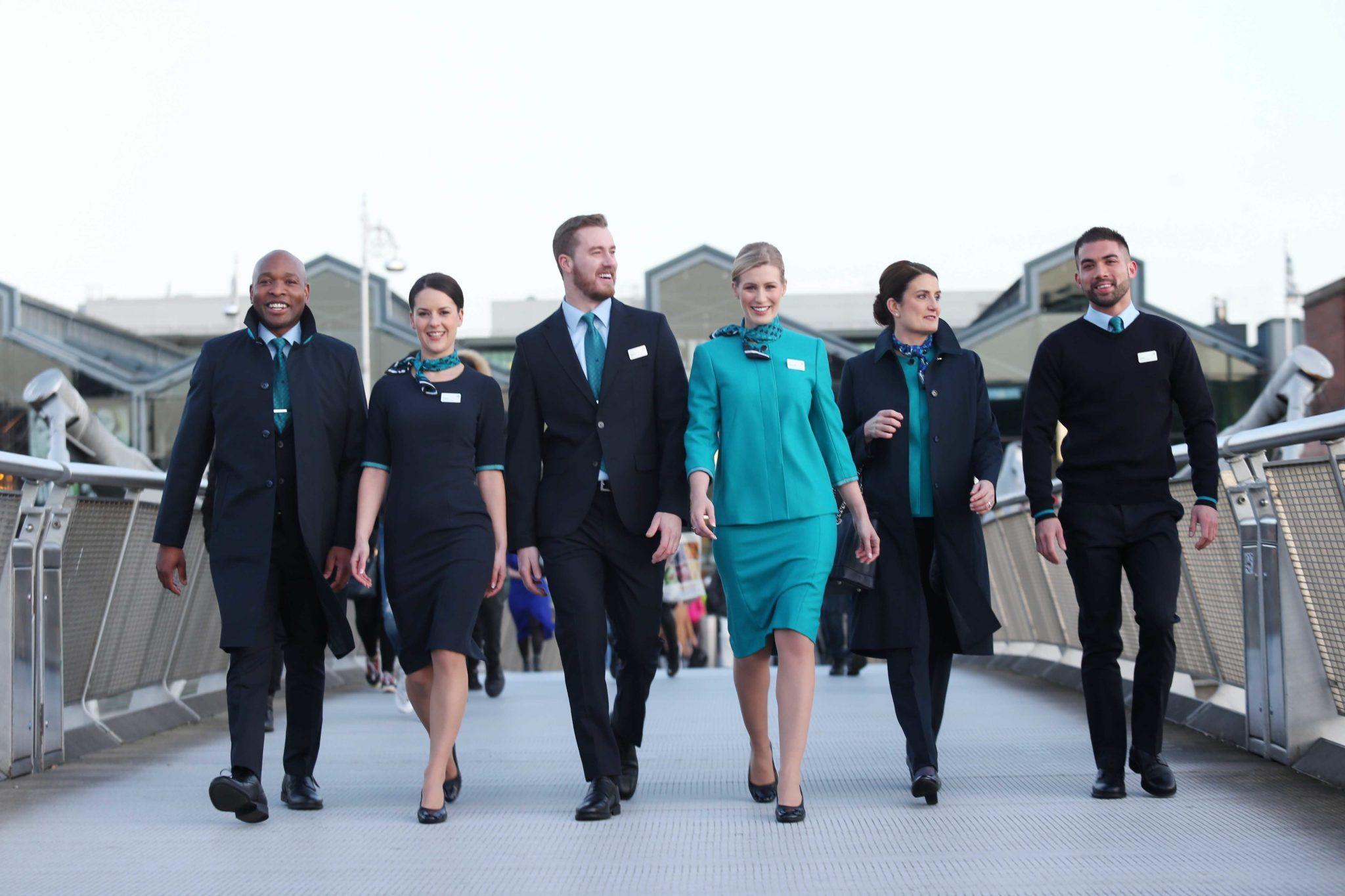 Are Lingus new cabin crew uniform