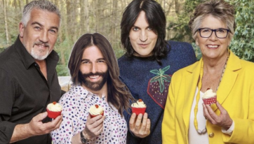 'Queer Eye' star Jonathan Van Ness hints at possible 'Bake Off' presenting role