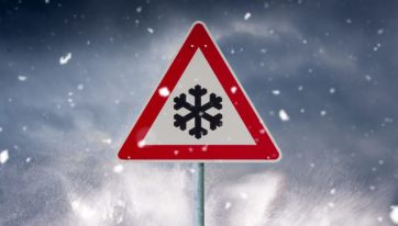Low temperature and ice warning issued for 17 counties this weekend