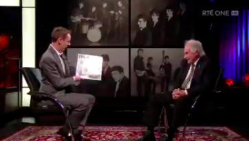 Original Beatles drummer Pete Best tells Ryan about his frosty relationship with the band