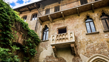 Couples can stay at Juliet's Verona house for the first time ever this Valentine's Day