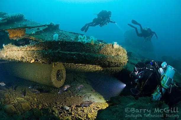 wreck diving in donegal
