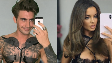Chris Taylor hilariously trolls Maura Higgins' lingerie mirror pic