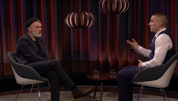 Viewers moved by James Leonard interview on last night's Tommy Tiernan Show