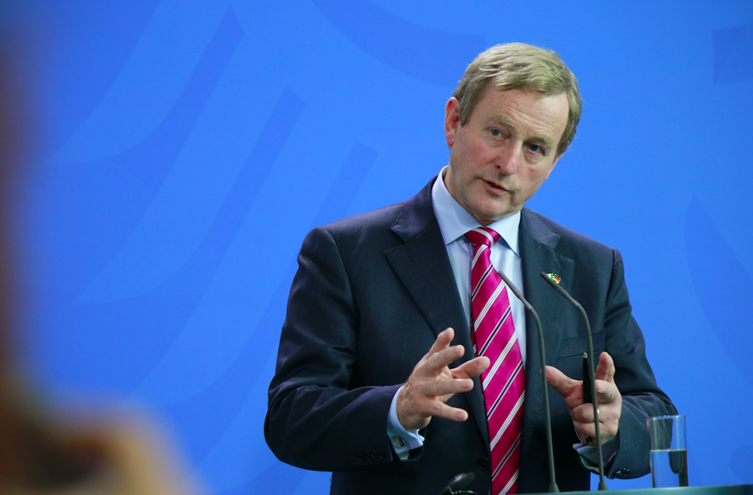 Enda Kenny revealed that Donald Trump couldn't pronounce his wife's name