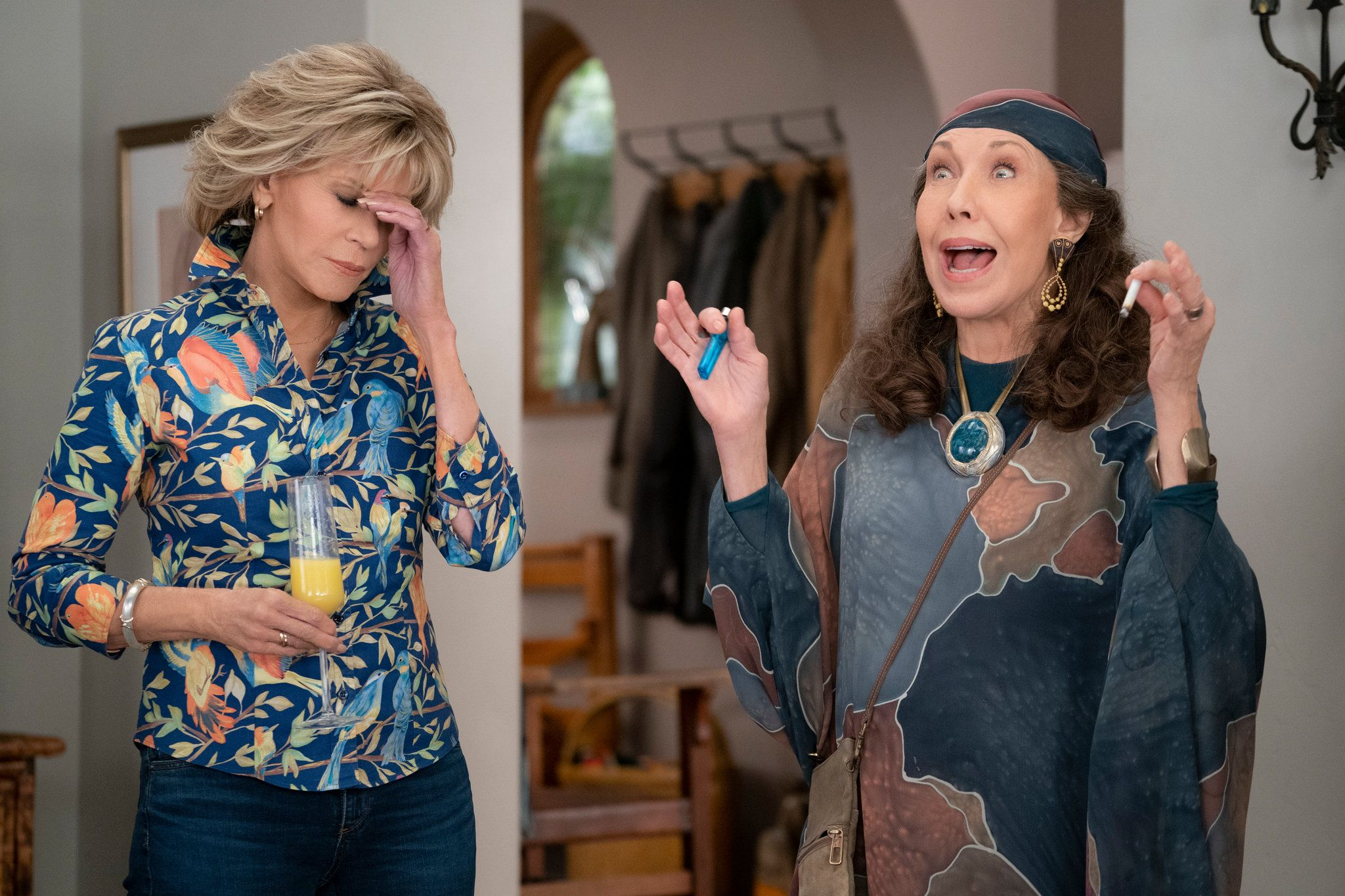 grace and frankie - what to watch on the ultimate Valentine's night in