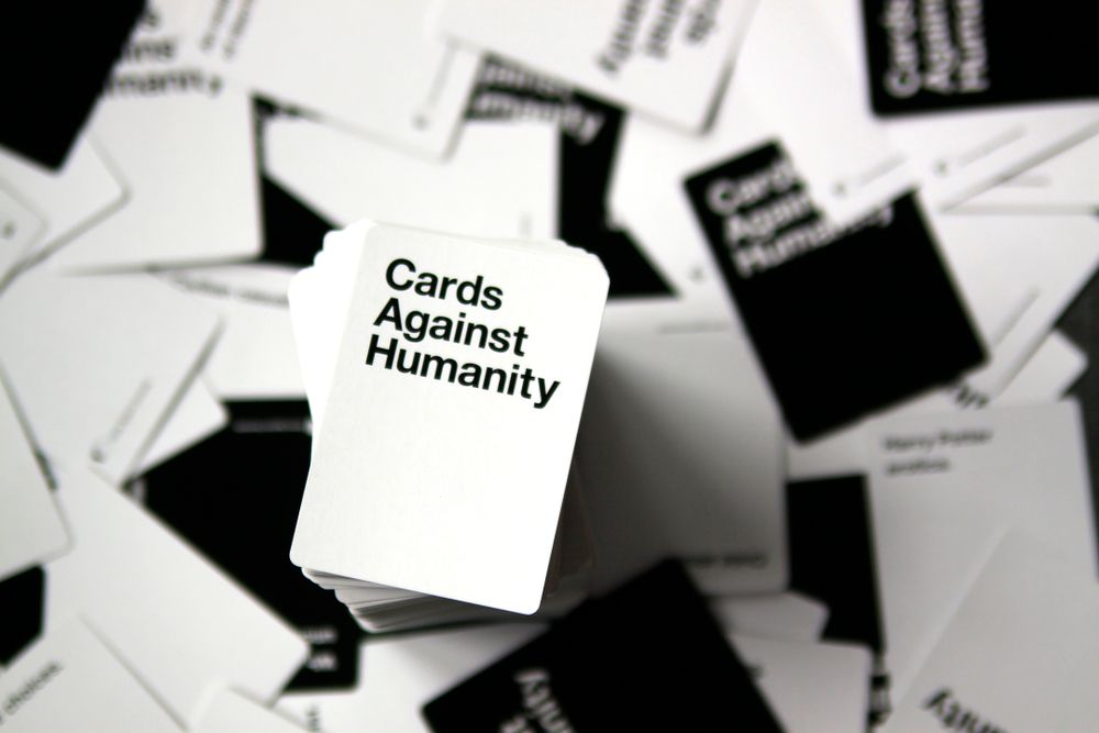 cards against humanity games to play staying in this weekend