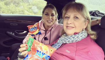 "Amy Huberman shares pic of ""most Irish moment"" she's ever had"