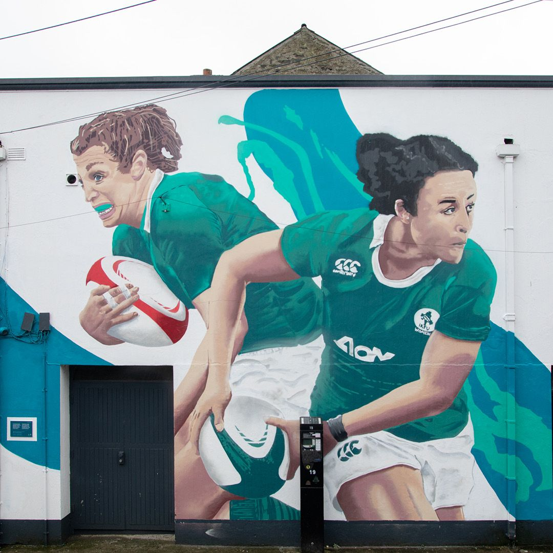 Six Nations murals
