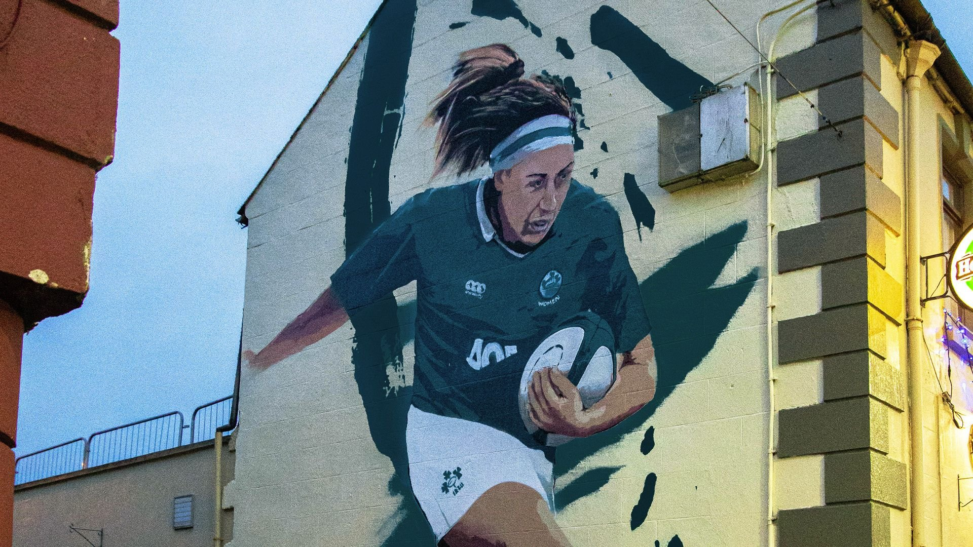 Six Nations murals