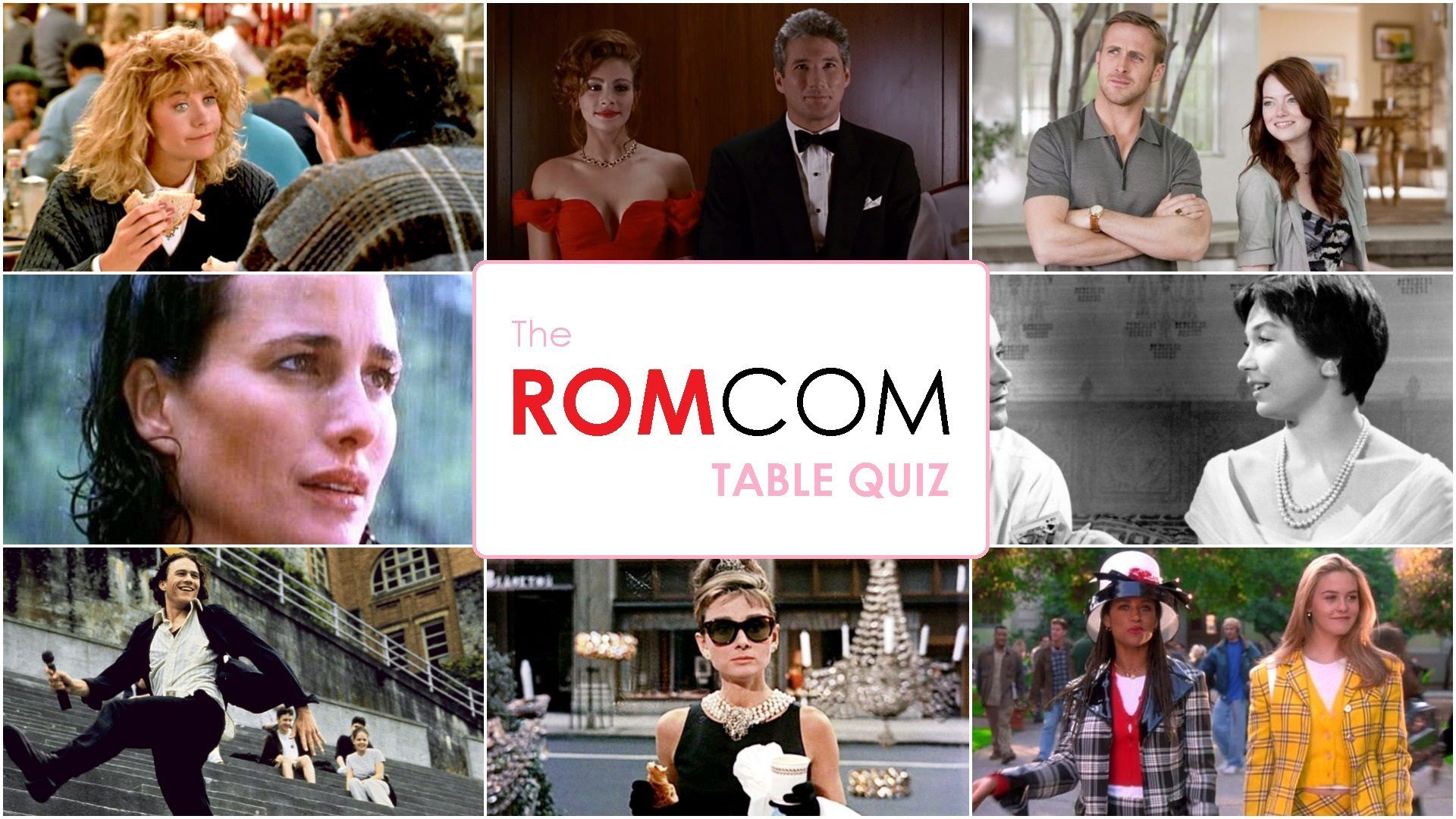 The Black Gate rom-com quiz