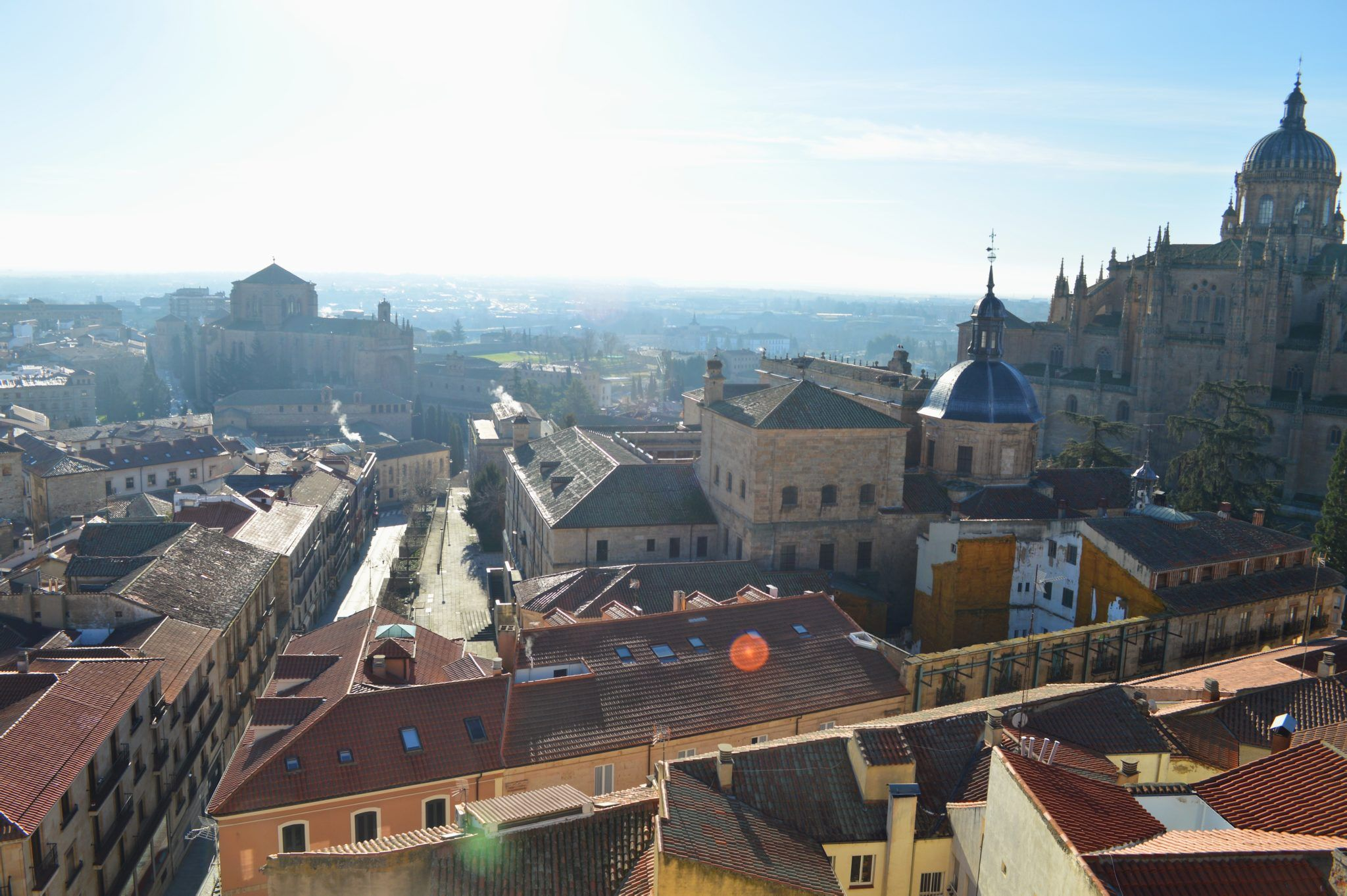 View of Salamanca from the bell tower