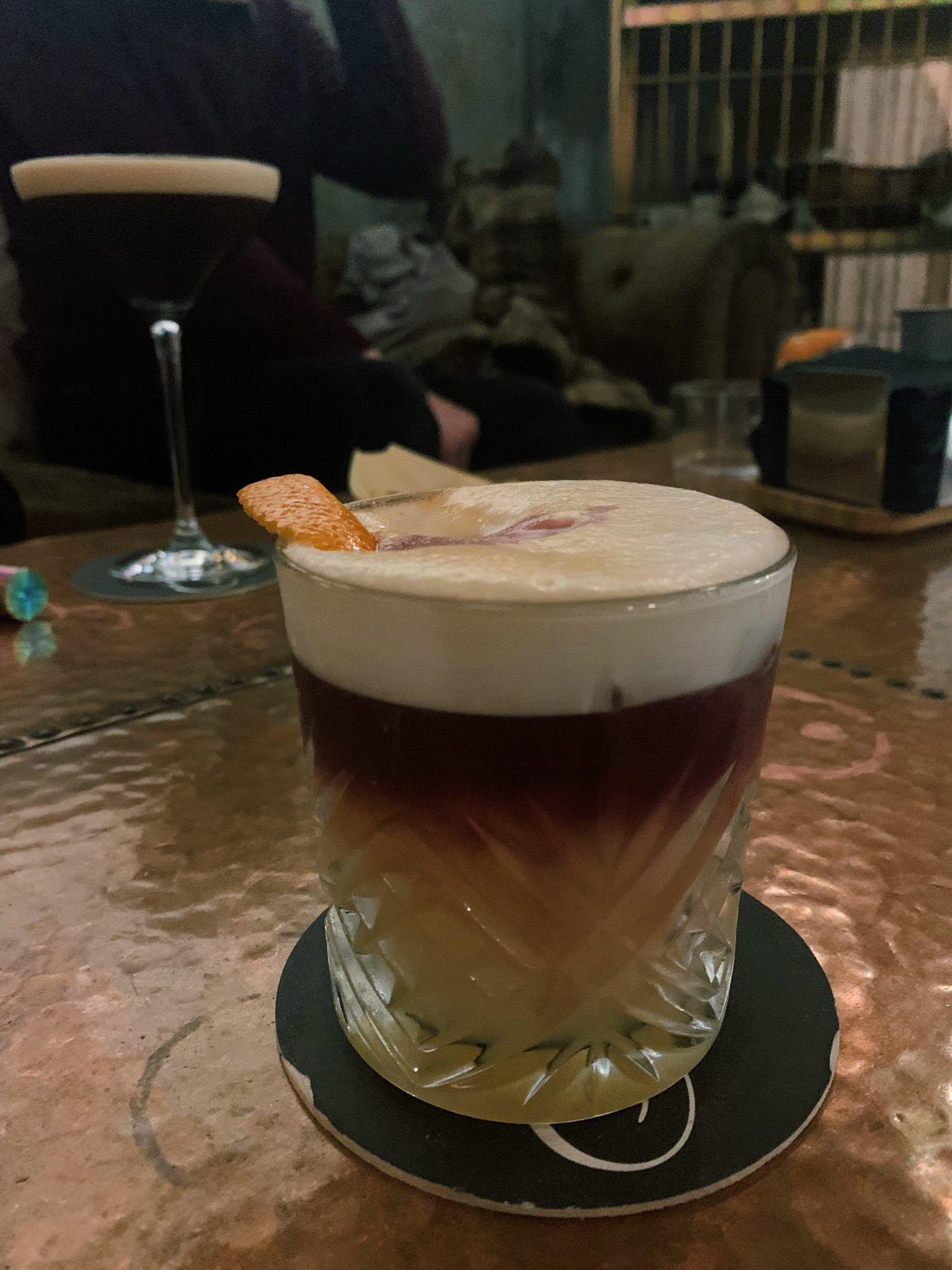 Cocktails at Café Niebla in Salamanca