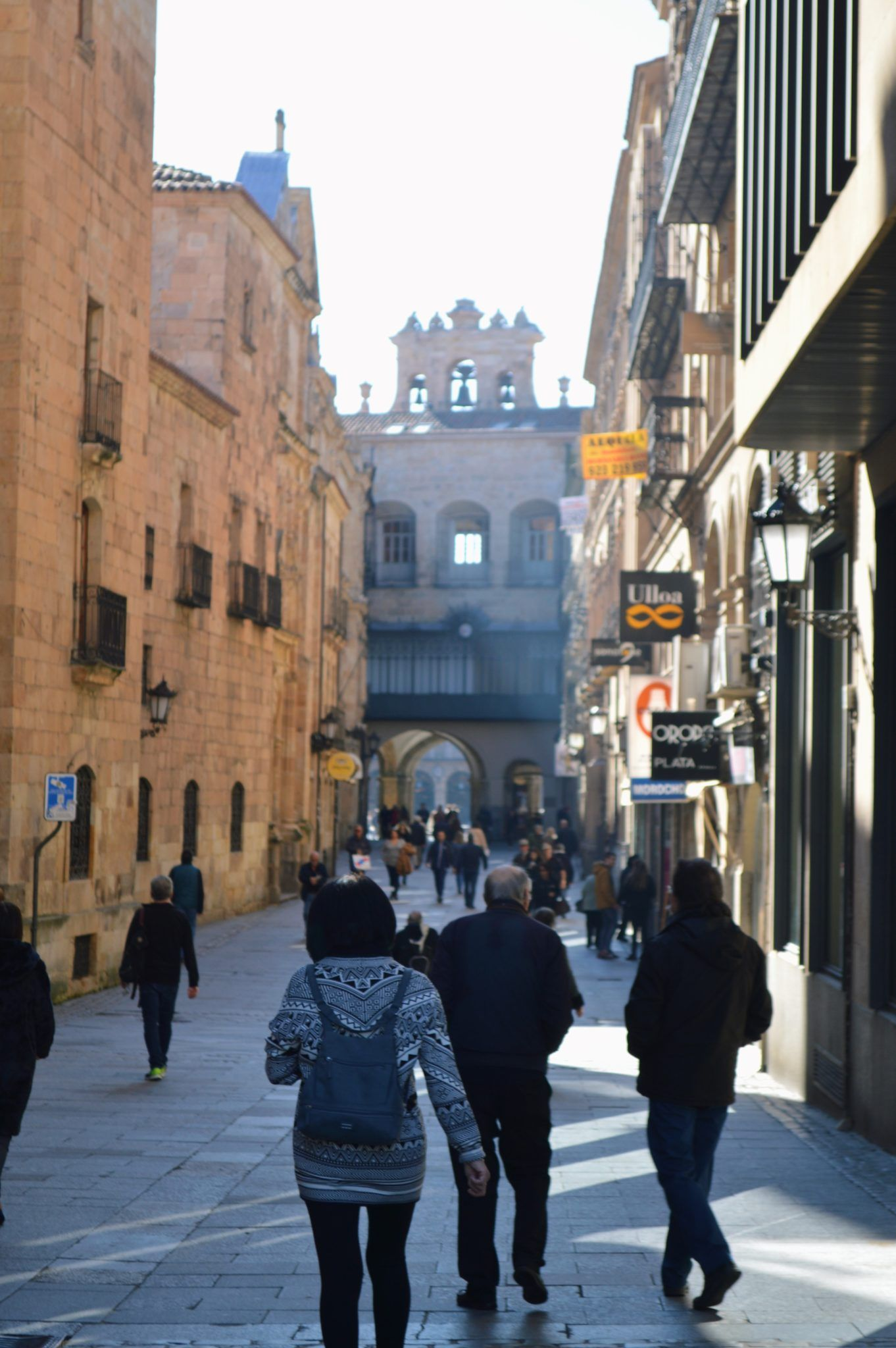 Salamanca - also known as Spain's Golden City