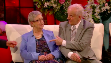 Jimmy and Mary melt hearts with appearance on Late Late Show's Valentine special