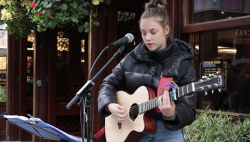 Justin Bieber gives Irish busker Allie Sherlock shoutout on Instagram