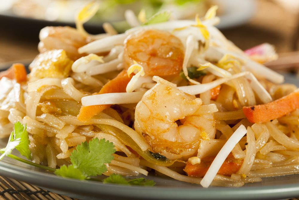 Pad Thai to cook when staying in this weekend