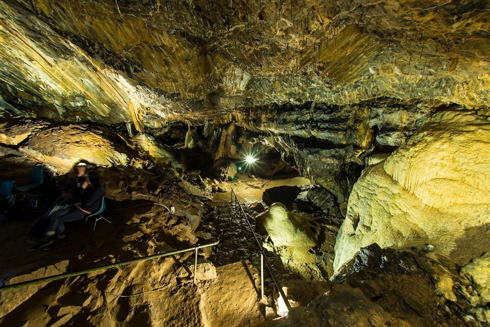 Mitchelstown cave in Tipperary