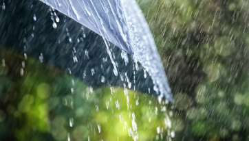 Rainfall warning issued for four counties tomorrow