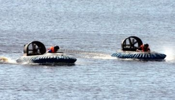 Did you know you can go hovercraft racing in Cavan?