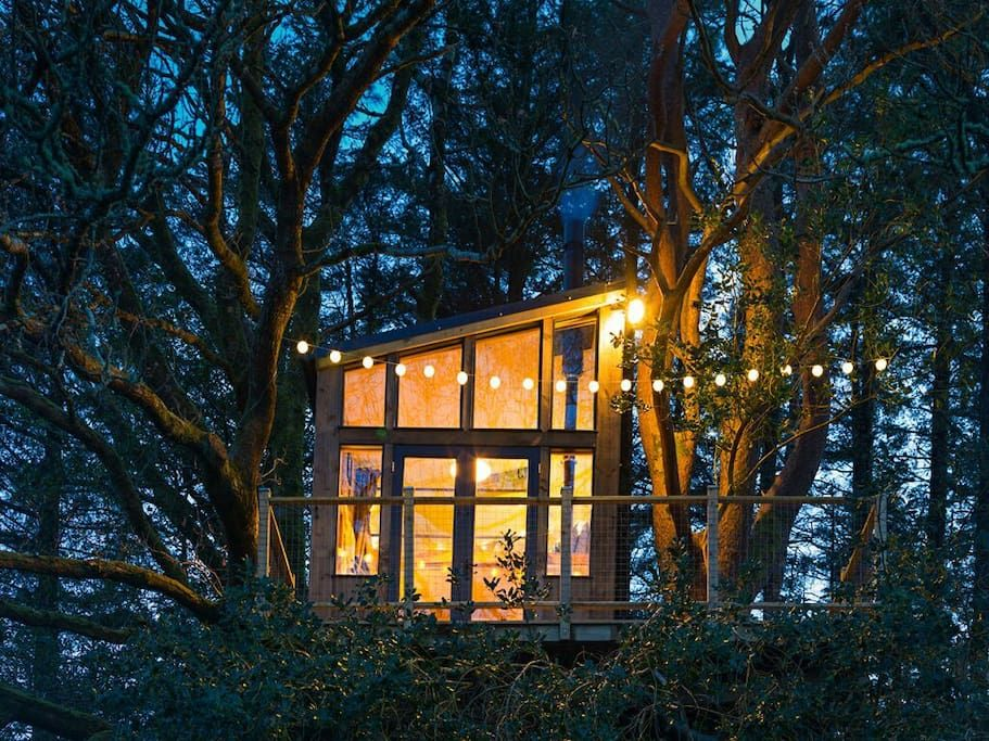 Donegal treehouse