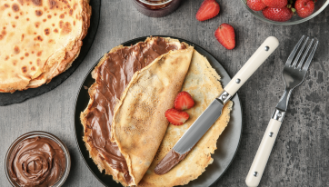 Gino's giving away free crepes this Tuesday