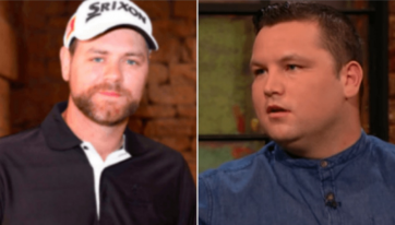 Brian McFadden and John Connors were involved in a bizarre Twitter spat over the weekend