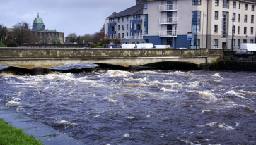 PICS: These photos show the extent of the flooding in Galway