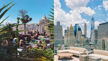 Four gorgeous rooftop bars to soak up the sun abroad