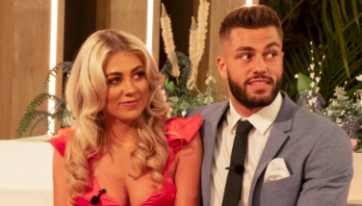 Love Island winners, Paige and Finn, pay tribute to Caroline Flack
