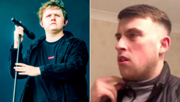 Lewis Capaldi responds after Irish comedian posts an impression of his singing