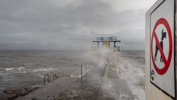 Storm Jorge has already exceeded the status red warning in Galway