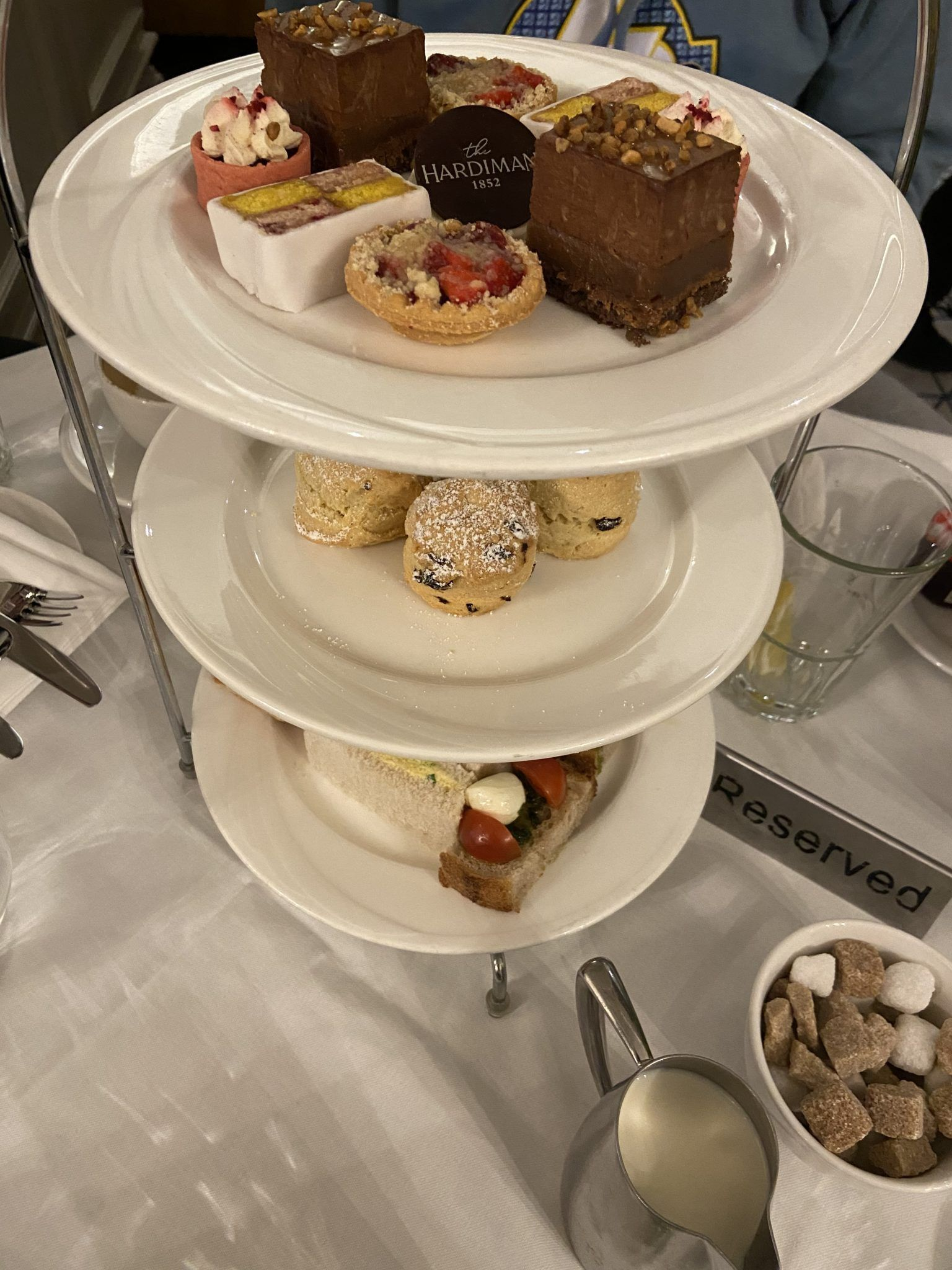 The Hardiman afternoon tea