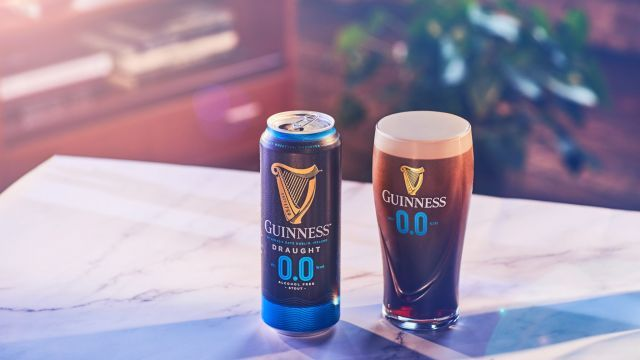 Guinness has unveiled their brand new non-alcoholic stout