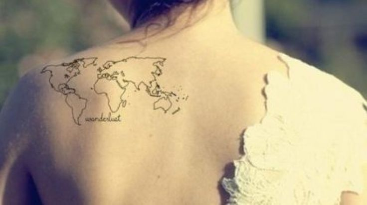 26 Awesome Tattoos That Will Ignite The Travel Bug Inside