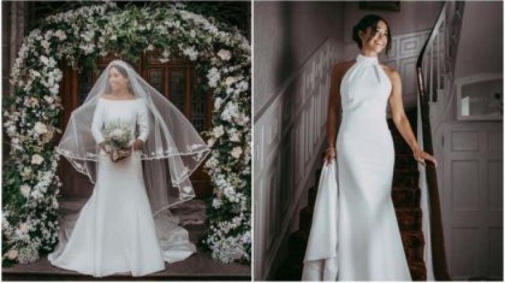 Who Designed Megan S Wedding Dress.Pics An Irish Bridal Store Has Recreated Both Of Megan Markle S
