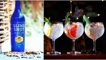 GINFLUENCED: Sling Shot Gin Uses Irish Peat From The Irish Midlands For A Unique Flavour