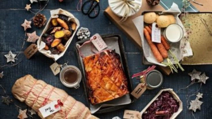 Christmas Dinner In A Can.You Can Get Your Entire Christmas Dinner In A Box This Year