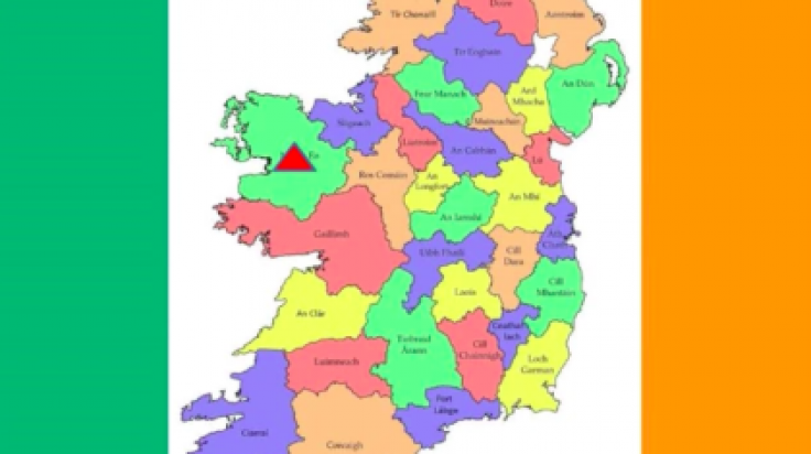 Map Of Ireland 26 Counties.All 32 Counties Of Ireland Ranked By The Sexiness Of Their Accents