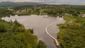 This Brand New Floating Irish Lake Boardwalk Lets You Walk On Water