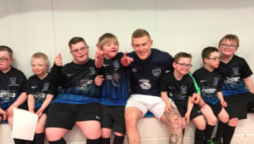 This Football Team Had Nobody To Play Against — Until James McClean Stepped In