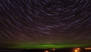 WATCH: This Breathtaking Time Lapse Video Shows The Northern Lights Over Mayo