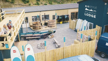This Surfing Lodge In Mayo Is A MUST For A Group Of Mates This Summer