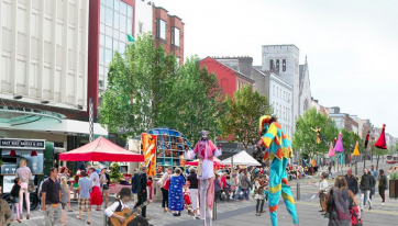 Plans For The Redevelopment Of O'Connell Street In Limerick Have Been Unveiled