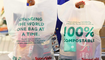 SuperValu Is Introducing 100% Compostable Shopping Bags
