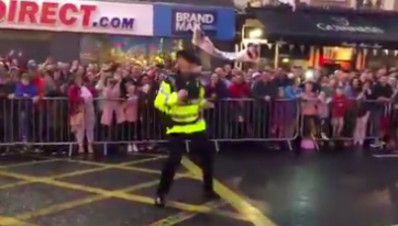 WATCH: Dancing Garda Gets Into The Spirit Of Things At Rose Of Tralee Festival