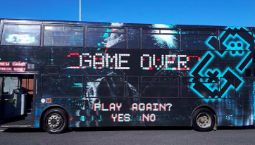 A Double-Decker Gaming Bus Will Be Open For Business From Next Week