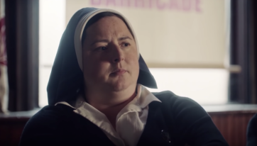 Sister Michael From Derry Girls Will Be A Guest On The Ray Darcy Show This Evening